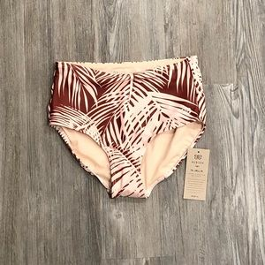 Albion high waisted bathing suit bottoms